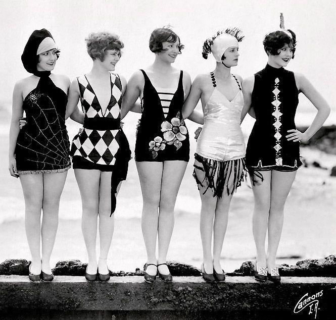 Купальники 30-х годов
