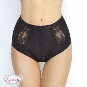 Трусы макси Senselle by Felina Summer Rose Lace 22009 черный