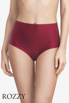 Трусы макси Chantelle Soft Stretch 2647 бордовый